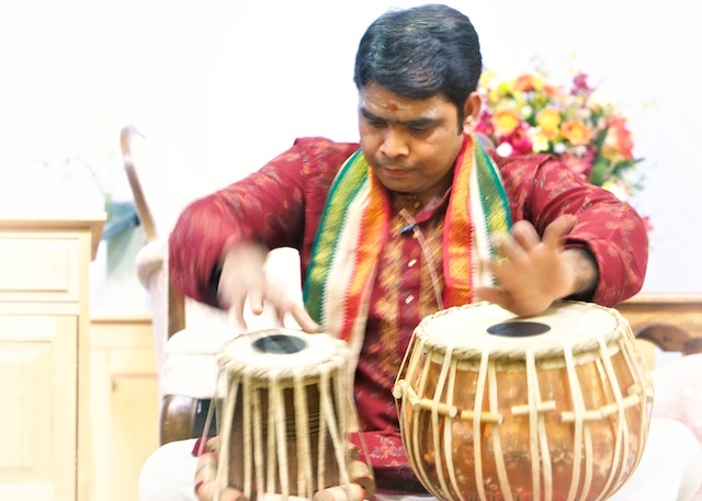 Pandit Mishra Tabla Performance