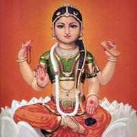 Goddess Bala Tripura Sundari