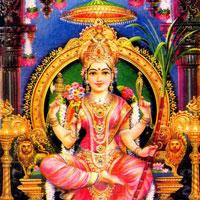 Goddess Lalitha Tripura Sundari