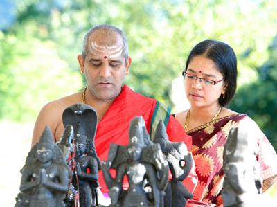 Navagraha (Nine Planets) Shanti Puja
