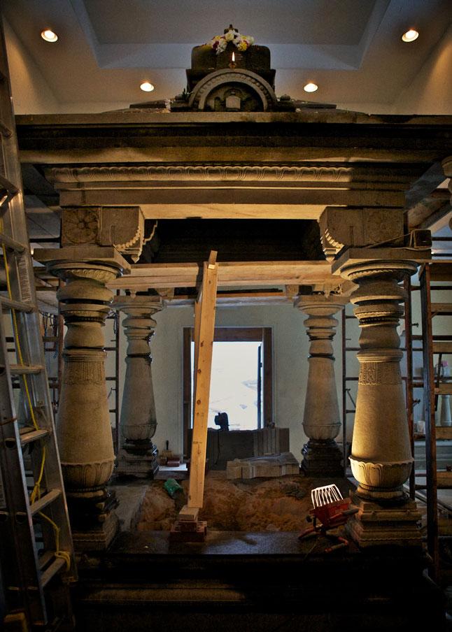 Final shot of Inner sanctum all aglow.