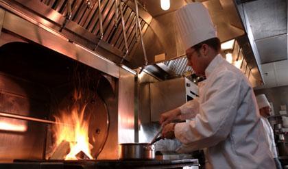 Restaurant Stove Flame
