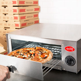 Four Wall Mounted Pizza Ovens