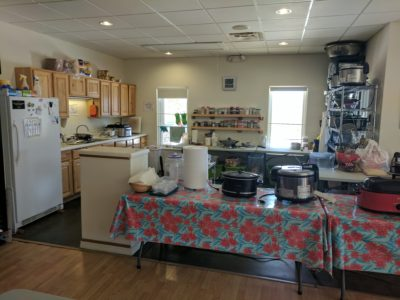 Visitor Center Kitchen Remodel