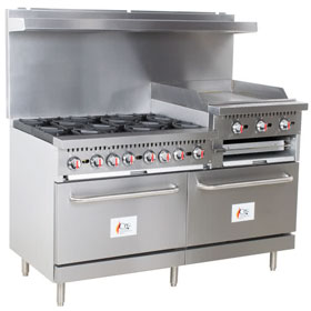 6 Burner Cook Range